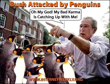 Bush penguins cartoon
