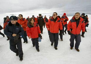 king george island Antarctica
