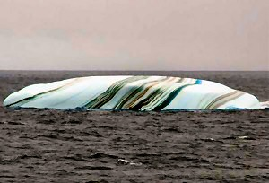 striped iceberg